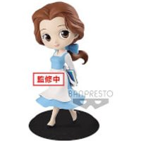 Banpresto Q Posket Disney Beauty and the Beast Belle Country Style Figure 14cm (Pastel Colour Version) - Princess Belle Gifts