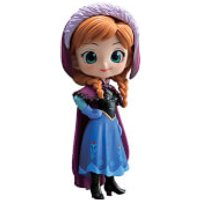 Banpresto Q Posket Disney Frozen Anna Figure 14cm (Normal Colour Version)