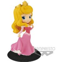 Banpresto Q Posket Disney Sleeping Beauty Princess Aurora Figure 14cm (Pink Dress) - Sleeping Beauty Gifts