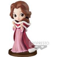 Banpresto Q Posket Petit Girls Festival Disney Beauty and the Beast Belle Figure 7cm (Winter Dress) - Princess Belle Gifts