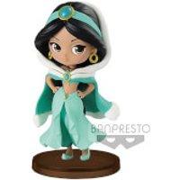 Banpresto Q Posket Petit Girls Festival Disney Aladdin Jasmine Figure 7cm (Winter Dress) - Princess Jasmine Gifts