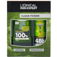 L'Oréal Paris Men Expert Clean Power Christmas Gift