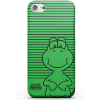 Nintendo Super Mario Yoshi Retro Colour Line Art Phone Case for iPhone and Android - iPhone 8 Plus - Carcasa doble capa - Mate