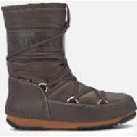 moon boot women's soft shade mid waterproof boots - anthracite - eu 39/uk 6 - grey