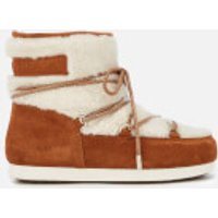 Moon Boot Women's Low Shearling Boots - Whiskey - EU 37/UK 4 - Tan/Brown