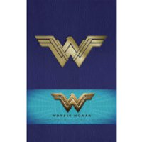 Wonder Woman Hardback Ruled Journal - Wonder Woman Gifts