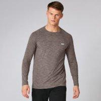 MP Performance Long Sleeve T-Shirt - Driftwood Marl - L