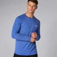 MP Performance Long Sleeve T-Shirt - Ultra Blue Marl - XXL