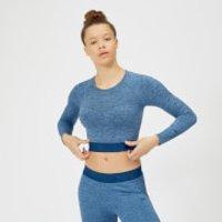 Top Corto Sin Costuras Inspire - XS - Soft Blue