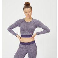 Inspire Seamless Crop Top - Purple - XS - Soft Purple