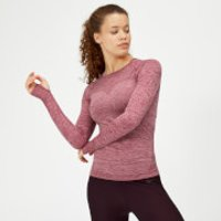 Inspire Seamless Long Sleeve Top - Dusty Rose - S - Dusty Rose