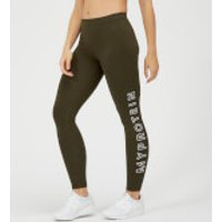 Myprotein The Original Legging - Dark Khaki - XS
