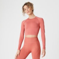 MP Shape Seamless Crop Top - Copper Rose - M