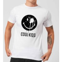 Smiley World Slogan Cool Kids Men's T-Shirt - White - L - White - Cool Gifts
