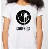 Smiley World Slogan Cool Kids Women's T-Shirt - White - XS - White - Cool Gifts
