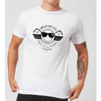 Smiley Smiles Are Free Men's T-Shirt - White - L - White