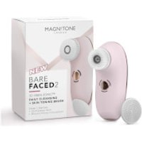 Magnitone London BareFaced 2 Daily Cleansing and Skin Toning Brush - Pink
