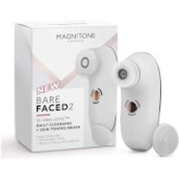 Magnitone London BareFaced 2 Daily Cleansing and Skin Toning Brush - White