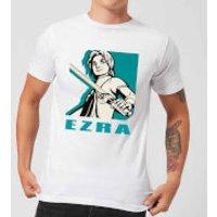 Star Wars Rebels Ezra Men's T-Shirt - White - XL - White