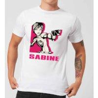 Star Wars Rebels Sabine Mens T-Shirt - White - S - White