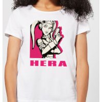 Star Wars Rebels Hera Women's T-Shirt - White - S - White