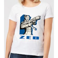 Star Wars Rebels Zeb Women's T-Shirt - White - 3XL - White