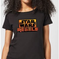 Star Wars Rebels Logo Women's T-Shirt - Black - XS - Black