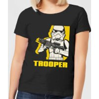 Star Wars Rebels Trooper Women's T-Shirt - Black - XL - Black
