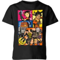 Star Wars Rebels Comic Strip Kids' T-Shirt - Black - 3-4 Years - Black