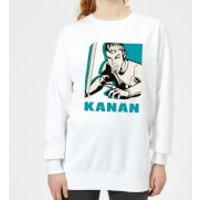 Star Wars Rebels Kanan Women's Sweatshirt - White - XS - White