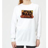 Star Wars Rebels Logo Women's Sweatshirt - White - XL - White