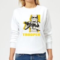 Star Wars Rebels Trooper Women's Sweatshirt - White - S - White