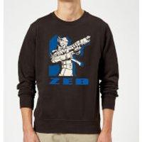 Star Wars Rebels Zeb Sweatshirt - Black - XL - Black
