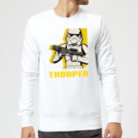 Star Wars Rebels Trooper Sweatshirt - White - S - White