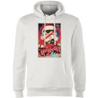 Star Wars Rebels Poster Hoodie - White - M - White