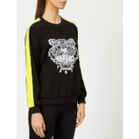 KENZO-Womens-Soft-Sweater-Tiger-Embroidery-Black-XS-Black