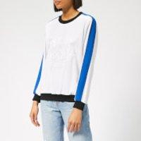 KENZO Women's Soft Sweater Tiger Embroidery - White - XS - White