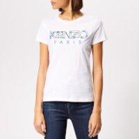 KENZO-Womens-Fitted-TShirt-White-XS-White