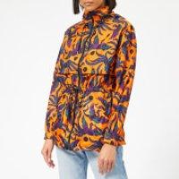 Kenzo Elasticated Windbreaker - Medium Orange