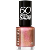 Rimmel 60 Seconds Glitter Nail Polish - Fab