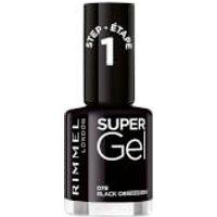 Esmalte de uñas Super Gel de Rimmel - Black Obsession