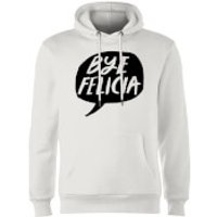 Rock On Ruby Bye Felicia Hoodie - White - M - White