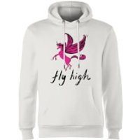 Rock On Ruby Fly High Hoodie - White - L - White
