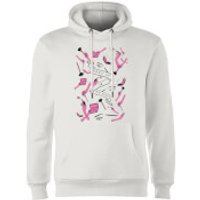 Rock On Ruby Makeup Is My Life Hoodie - White - M - White - Makeup Gifts