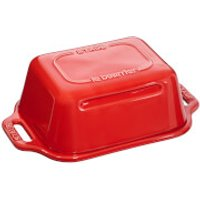 Staub Ceramic Rectangular Butter Dish - Cherry