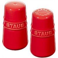 Staub Ceramic Round Salt and Pepper Shaker - Cherry