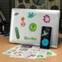 Rick and Morty Gadget Decals - Gadget Gifts