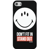 Smiley World Slogan Don't Fit In, Stand Out Phone Case for iPhone and Android - iPhone 7 Plus - Toug