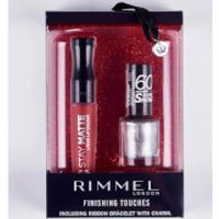 Rimmel Finishing Touches Gift Set - 60 Seconds NP and Stay Matte LL (Worth £9)