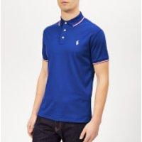 Polo Ralph Lauren Men's Stripe Tipped Pima Polo Shirt - Cruise Royal - XL